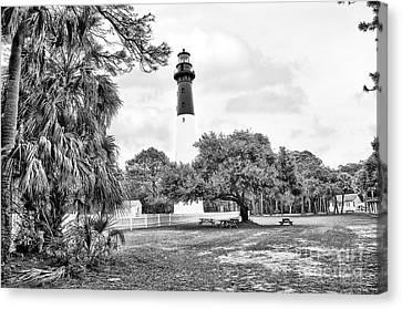 Hunting Island Lighthouse Canvas Print by Scott Hansen