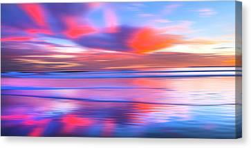 Huntington Pastels Canvas Print by Sean Davey