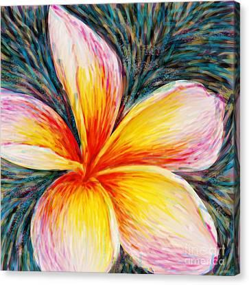 Hurt Filling Canvas Print by Atiketta Sangasaeng