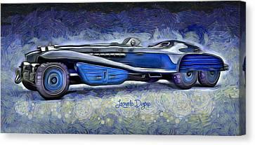 Hydra Schmidt Coupe Canvas Print by Leonardo Digenio
