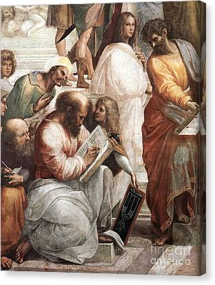 Hypatia Of Alexandria, Mathematician Canvas Print by Science Source