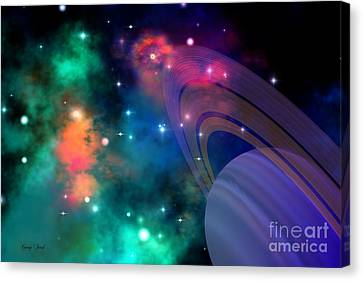 Hyperbola Canvas Print by Corey Ford