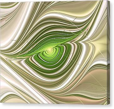 Hypnotic Eye Canvas Print by Anastasiya Malakhova