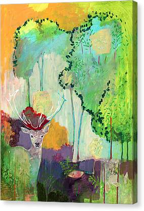 I Am The Meadow In The Forest Canvas Print by Jennifer Lommers