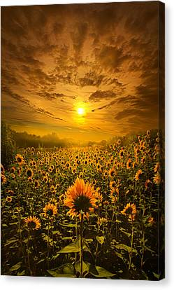 I Believe In New Beginnings Canvas Print by Phil Koch