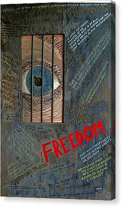 I Can See Freedom Canvas Print by Ian Duncan MacDonald