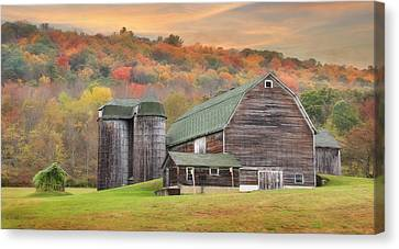 I Can Smell Autumn Canvas Print by Lori Deiter
