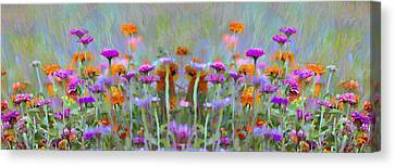 I Got To Get Back To The Garden Canvas Print by Bill Cannon