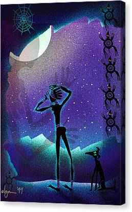 I Had A Dream About You Canvas Print by Angela Treat Lyon