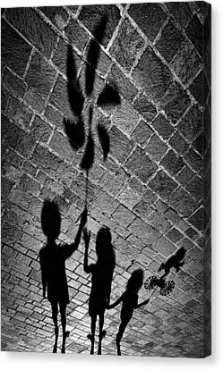 I Have A Gift Also For You. Canvas Print by Antonio Grambone