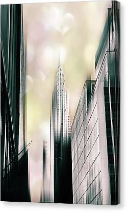 I Love New York Canvas Print by Jessica Jenney