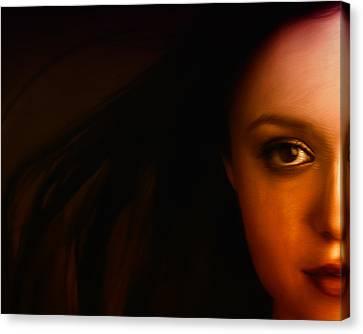 I See You Canvas Print by Mark Denham