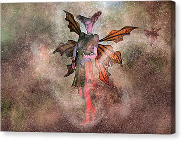 I See Your Fairy Dust And Raise You This Canvas Print by Betsy Knapp