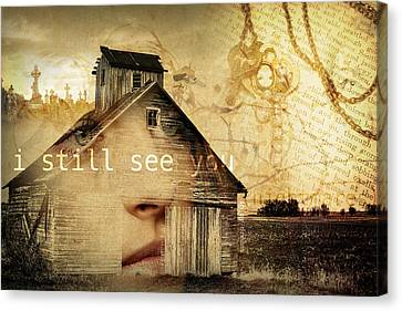 I Still See You In My Dreams Canvas Print by Design Turnpike