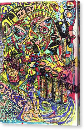 I Want To Be In That Number Canvas Print by Robert Wolverton Jr