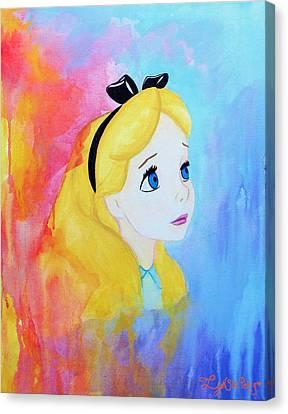 I Wonder Canvas Print by Lynsie Petig