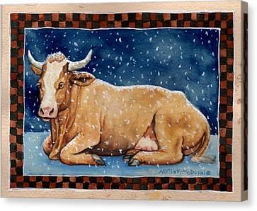 Ice Milk Canvas Print by Beth Clark-McDonal