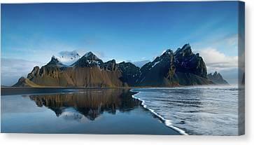 Iceland Sunrise Canvas Print by Larry Marshall