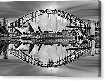 Iconic Reflections Canvas Print by Az Jackson