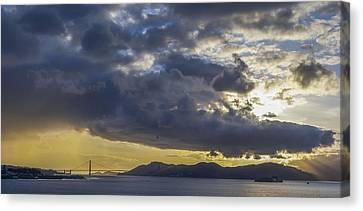 Icons Of The Bay Canvas Print by Sean Foster