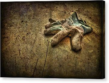 If The Glove Doesn't Fit........ Canvas Print by Evelina Kremsdorf