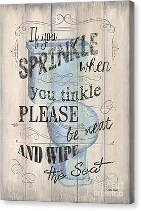 If You Sprinkle Canvas Print by Debbie DeWitt