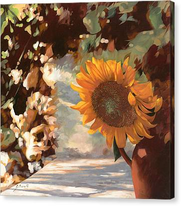 Il Girasole Canvas Print by Guido Borelli