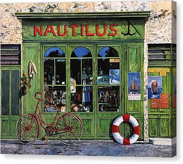 Il Nautilus Canvas Print by Guido Borelli