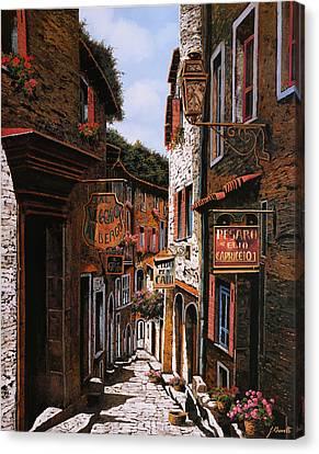 Il Vecchio Albergo Canvas Print by Guido Borelli