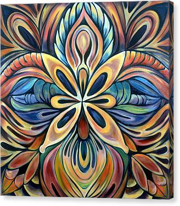Illumination Canvas Print by Shadia Derbyshire