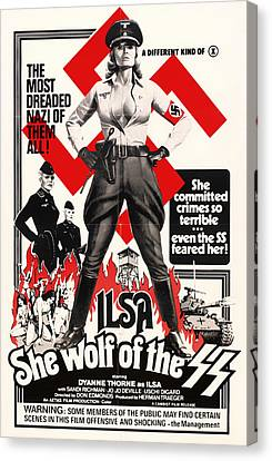 Ilsa - She Wolf Of The Ss 1975 Canvas Print by Mountain Dreams