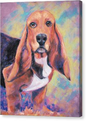 I'm All Ears Ears Canvas Print by Billie Colson