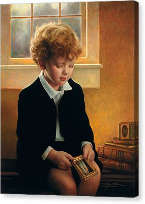 I'm Trying To Be Like Jesus Canvas Print by Greg Olsen