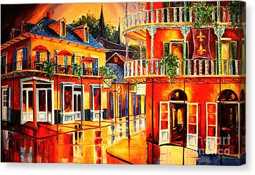Images Of The French Quarter Canvas Print by Diane Millsap