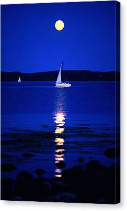Imageworks Photographic Sailboat Out On Canvas Print by Imageworks Photographic