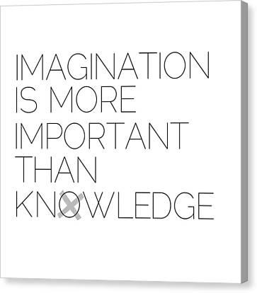 Imagination Canvas Print by Melanie Viola