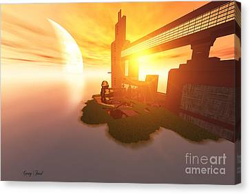 Imagine Canvas Print by Corey Ford