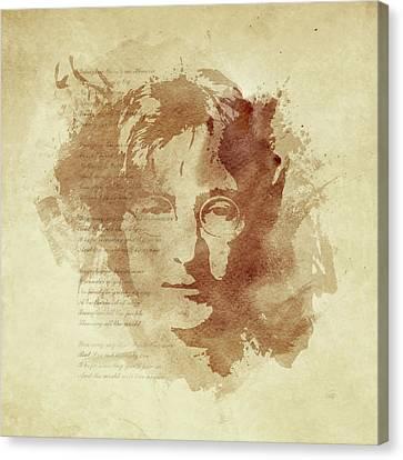 Imagine Canvas Print by Laurence Adamson