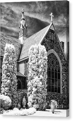 Immaculate Conception Church Canvas Print by Jeff Holbrook