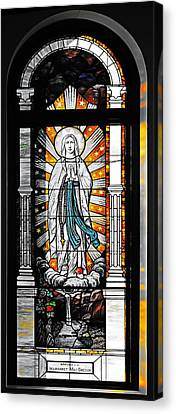 Immaculate Conception San Diego Canvas Print by Christine Till