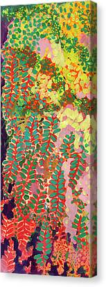 Immersed In Summer Part 1 Of 3 Canvas Print by Jennifer Lommers