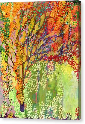 Immersed In Summer Part 2 Of 3 Canvas Print by Jennifer Lommers