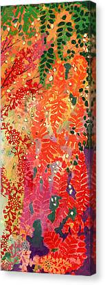 Immersed In Summer Part 3 Of 3 Canvas Print by Jennifer Lommers