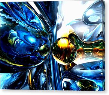 Impassioned Abstract Canvas Print by Alexander Butler