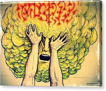 Imposition Of Desires Canvas Print by Paulo Zerbato