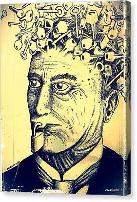 Impossibility Of Communication Canvas Print by Paulo Zerbato