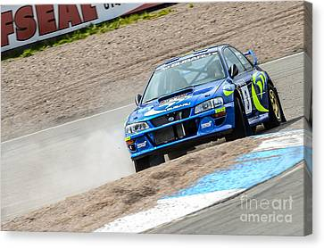 Impreza Canvas Print by Rjd Photography