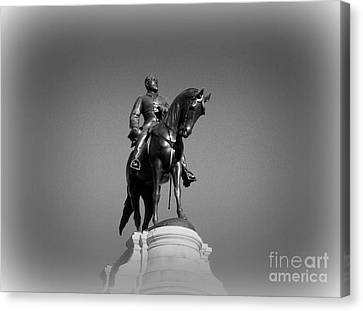 In All His Glory  Re Lee Canvas Print by Nancy Dole McGuigan