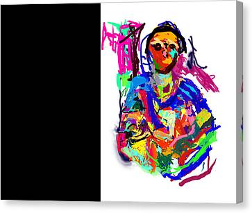 In Her Arms Canvas Print by James Thomas