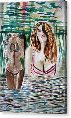 In Love. Canvas Print by Shlomo Zangilevitch